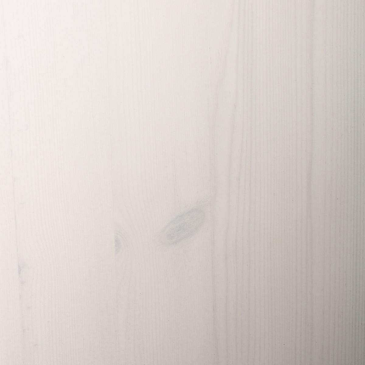 Anja TV-reol hvidpigmenteret fyrretræ - TV-reol med skuffer og hylder