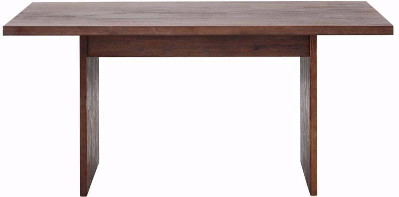 Mads Spisebord 160 x 90 - brun   - Spisebord i brun