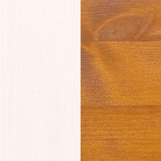 Marvel Bogreol - bejdset fyrretræ - 2 hylder - Bogreol i fyrretræ