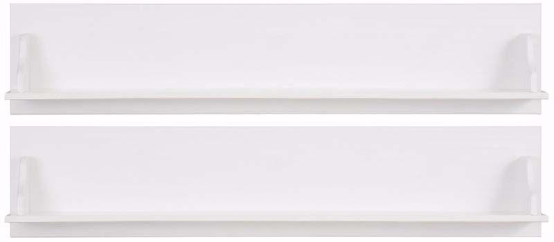 Mie Hylde hvidpigmenteret fyrretræ - Hvid lakeret knagerække