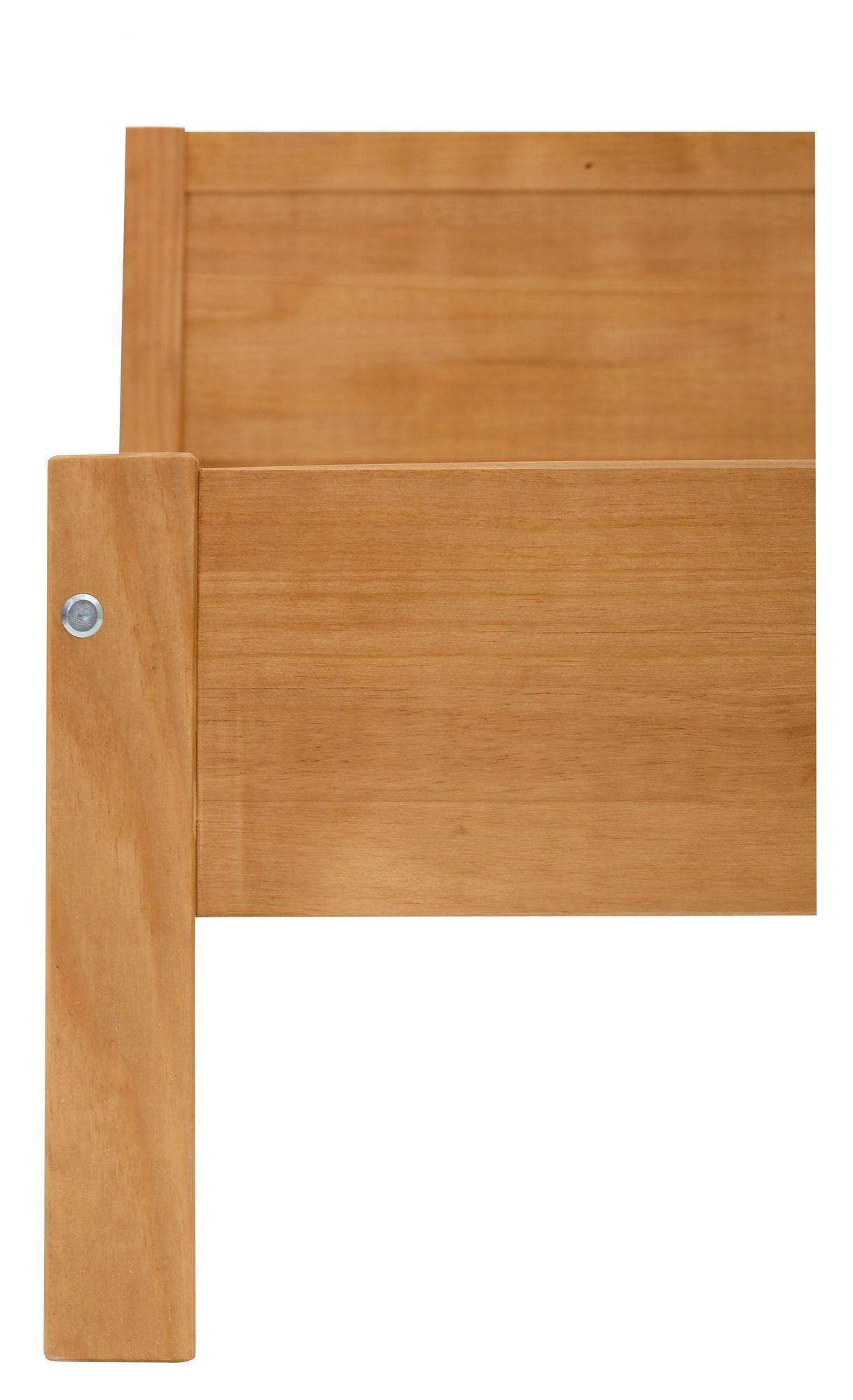 Oxford Sengeramme - Rattan/Fyrretræ, 200x140