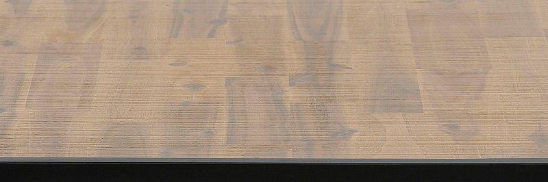 Saigon Sofabord - Natur/sort - Sort sofabord i træ