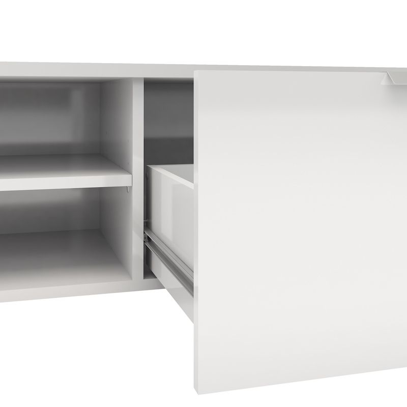 Match Tvbord - Hvid højglans B:115 - Hvidt TV-bord