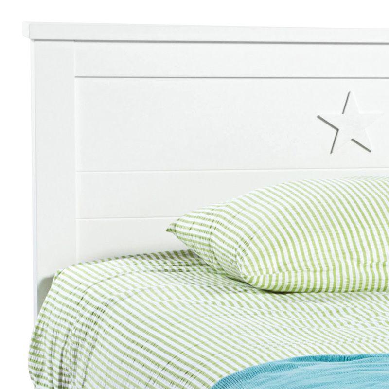 Mavis - Billund Sengeramme 200x90 - Hvid - Sengeramme fra Mavis i hvid - 90x200 cm