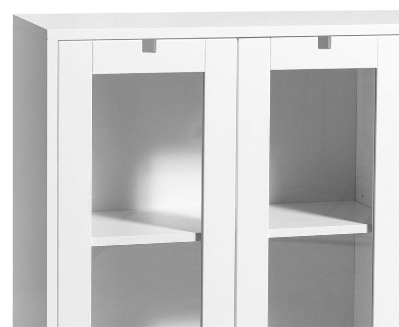 Mavis - Falsterbo Vitrineskab - Hvidlakeret - Vitrineskab fra Mavis i hvid