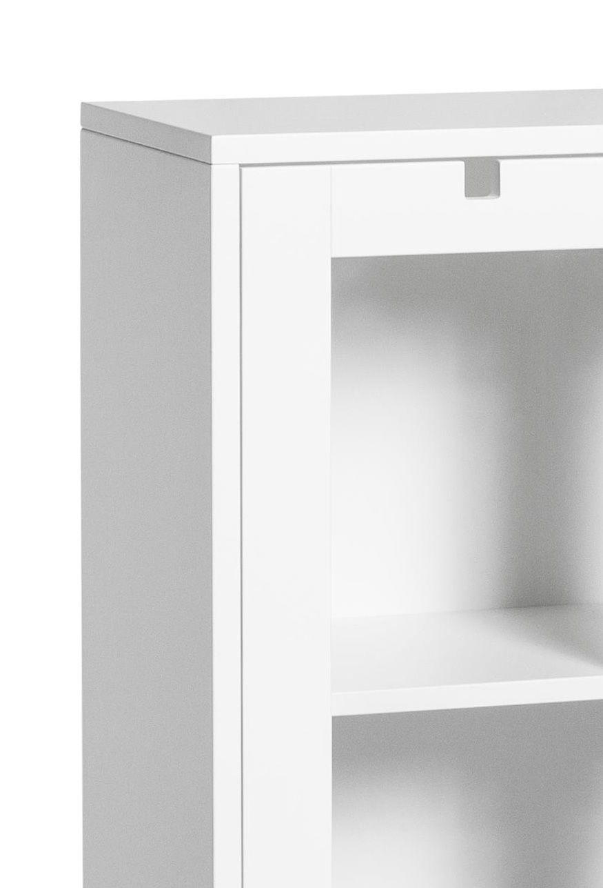 Mavis - Falsterbo Vitrineskab m/2 glaslåger - Hvid - Vitrineskab fra Mavis i hvid