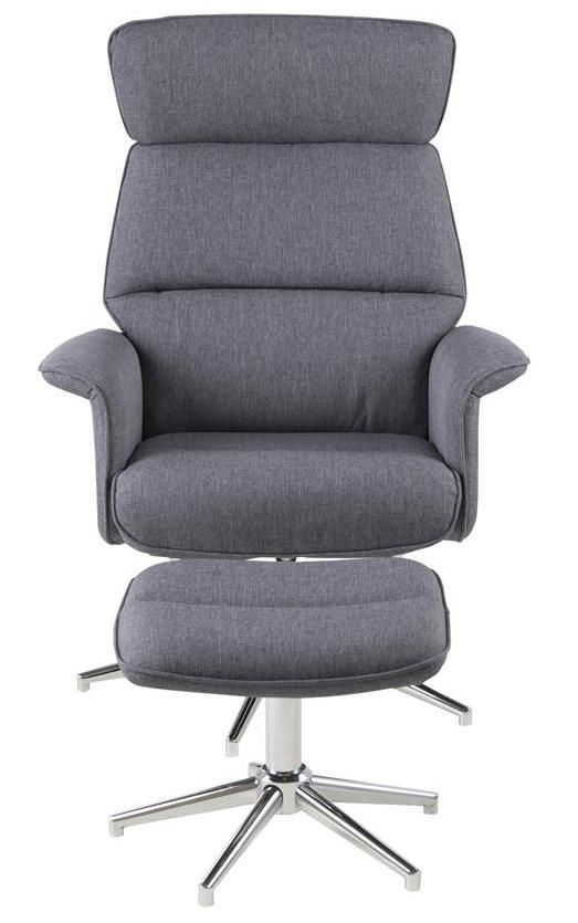 Merle Hvilestol + Fodskammel - Hvilestol med fodskammel