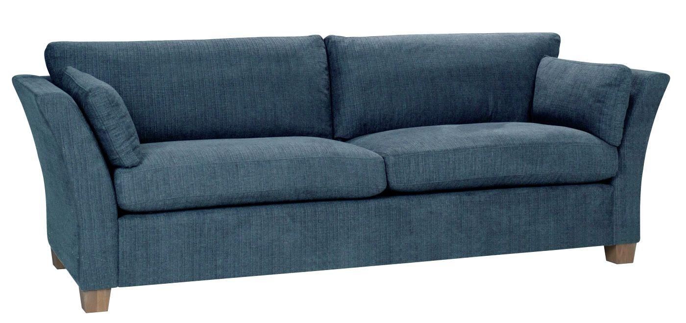 Milton 3-pers. Sofa - petrol