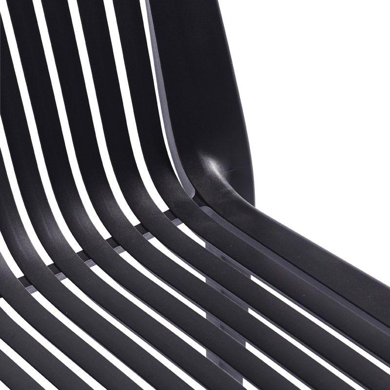 Muubs - Cool Stabelstol - Grå plast - Grå stabelstol i plastik