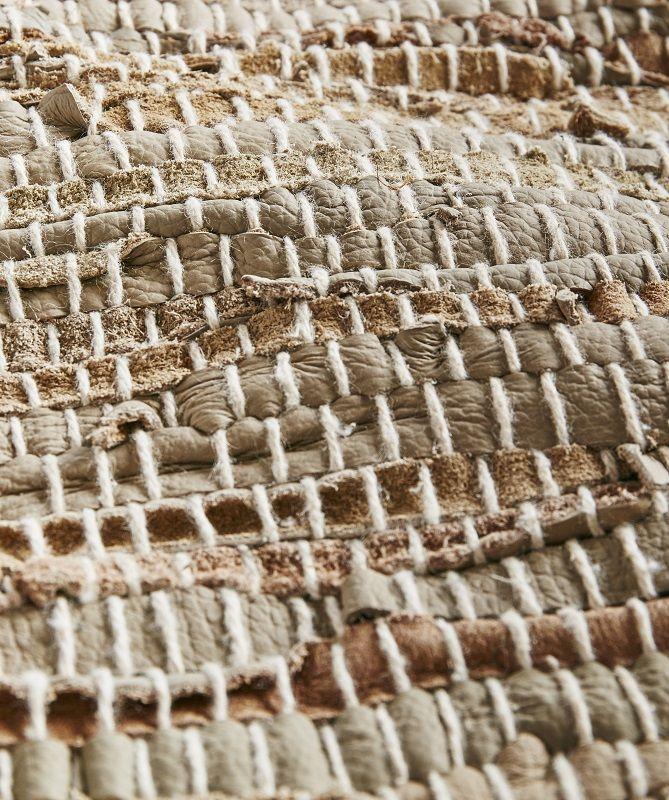Muubs - Desert Løber 300x100 - Læder - Løber i naturlige lædernuancer