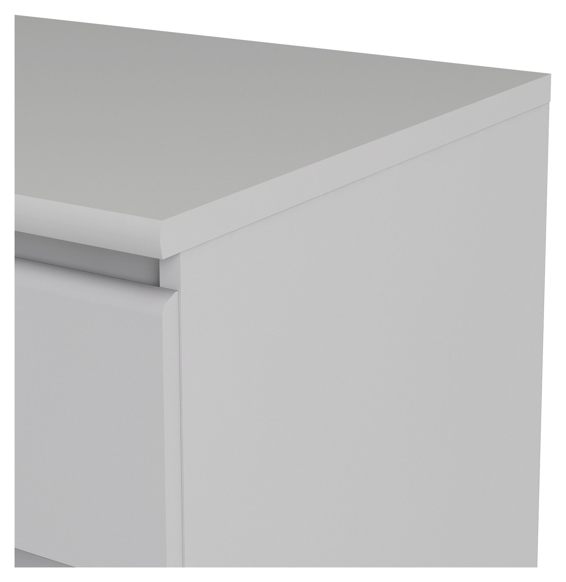 Naia Kommode - Hvid m/6 skuffer - Hvid kommode med 6 skuffer