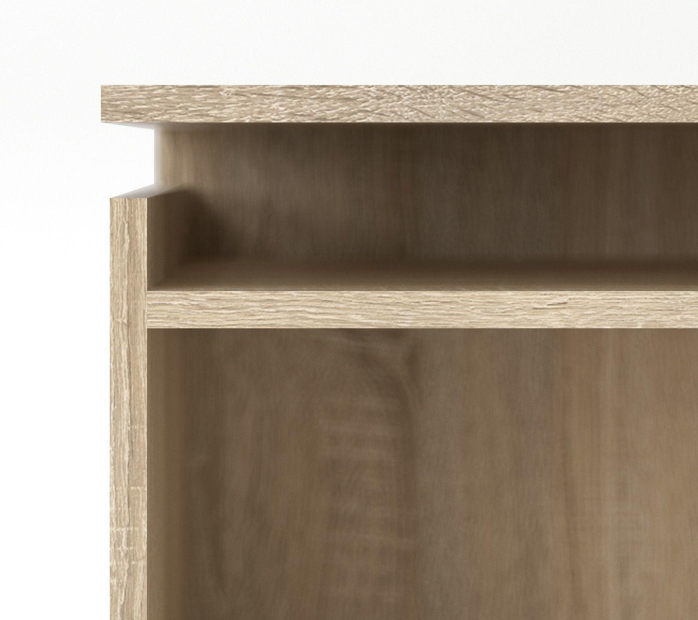 sengegavl med opbevaring Naia Sengegavl   Lys træ m/opbevaring   Gratis fragt sengegavl med opbevaring