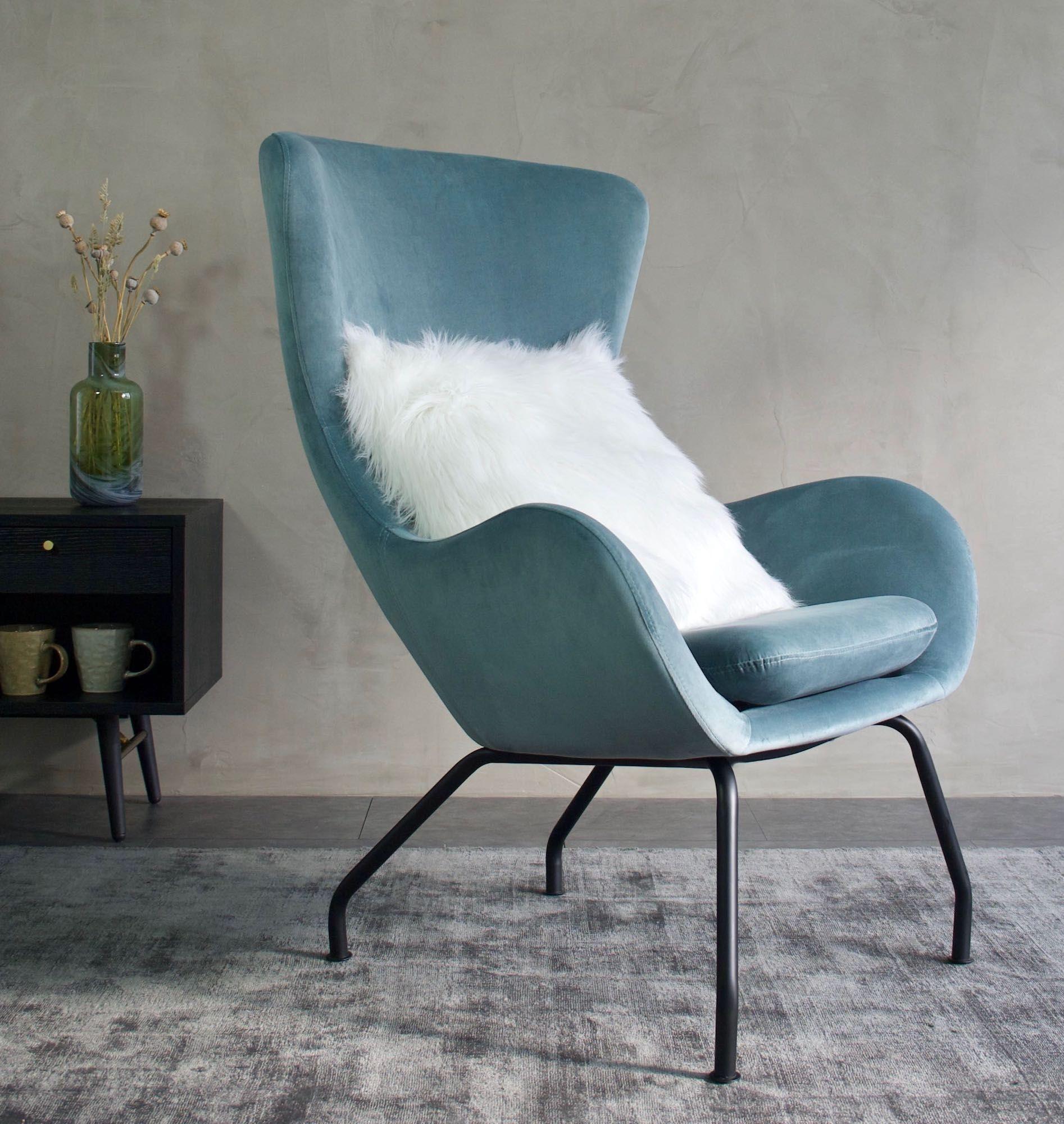 Colorcube Sofabord - Blå - 40x40 cm - Kvadratisk sofabord