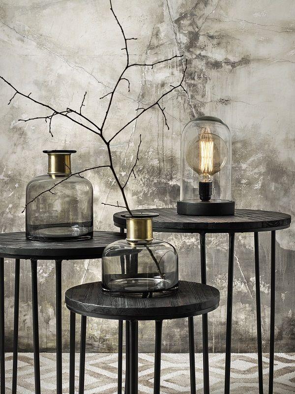 Nordal - Dome Bordlampe - S - Lille bordlampe i glaskuppel