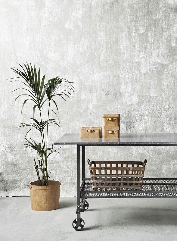 Nordal - Industrial Rullebord - Råt jern rullebord