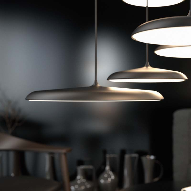 Nordlux DFTP Artist 25 Pendel - Sort - Sort pendel lampe