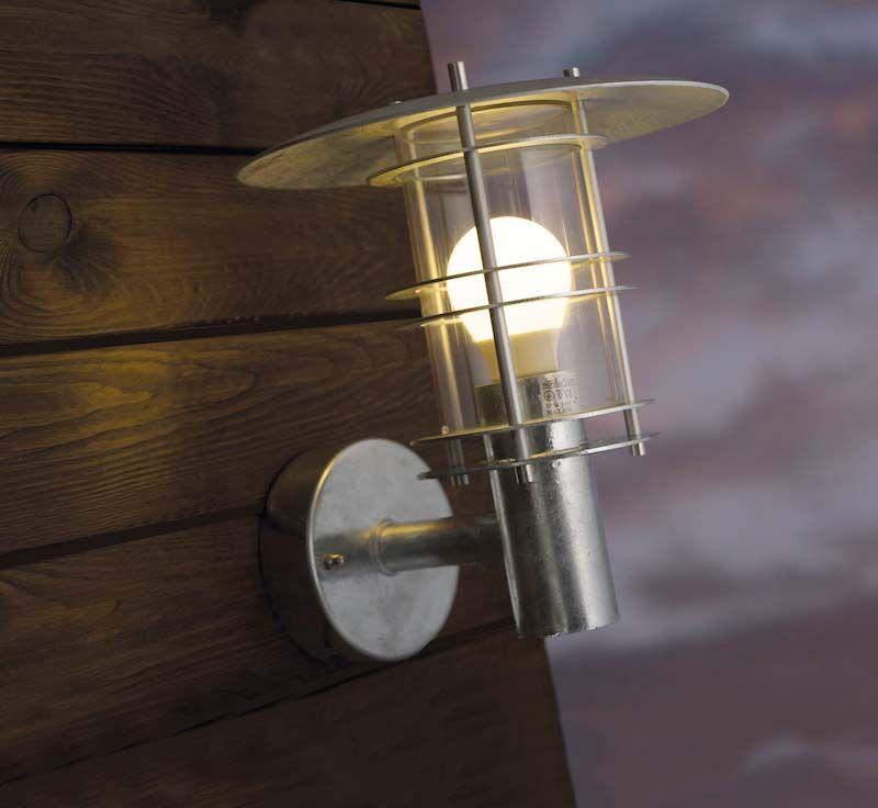 Nordlux DFTP Fredensborg Væglampe - Metal - Udendørs væglampe i metal