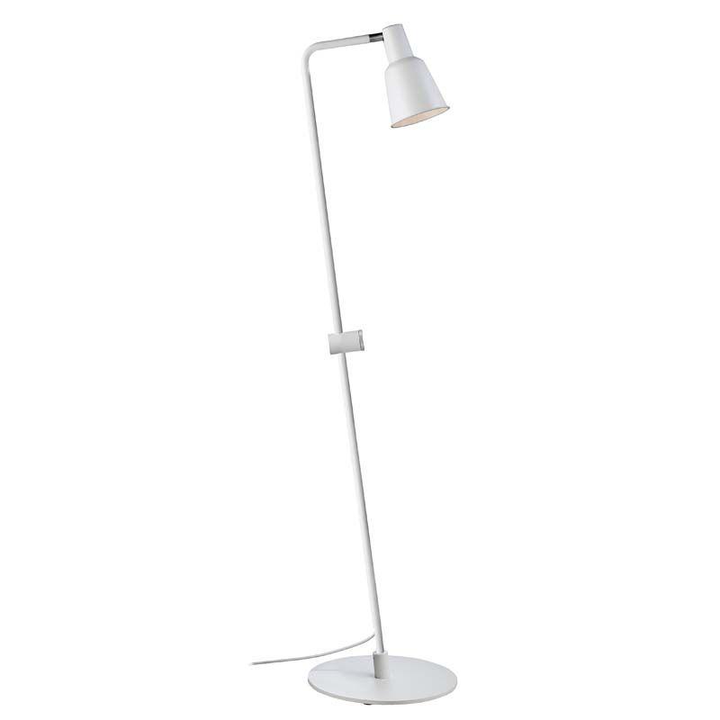Nordlux DFTP Patton Gulvlampe - Hvid - Hvid gulvlampe i metal