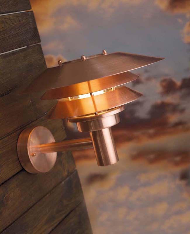 Nordlux DFTP Venø Væglampe - Kobber - Væglampe i kobber