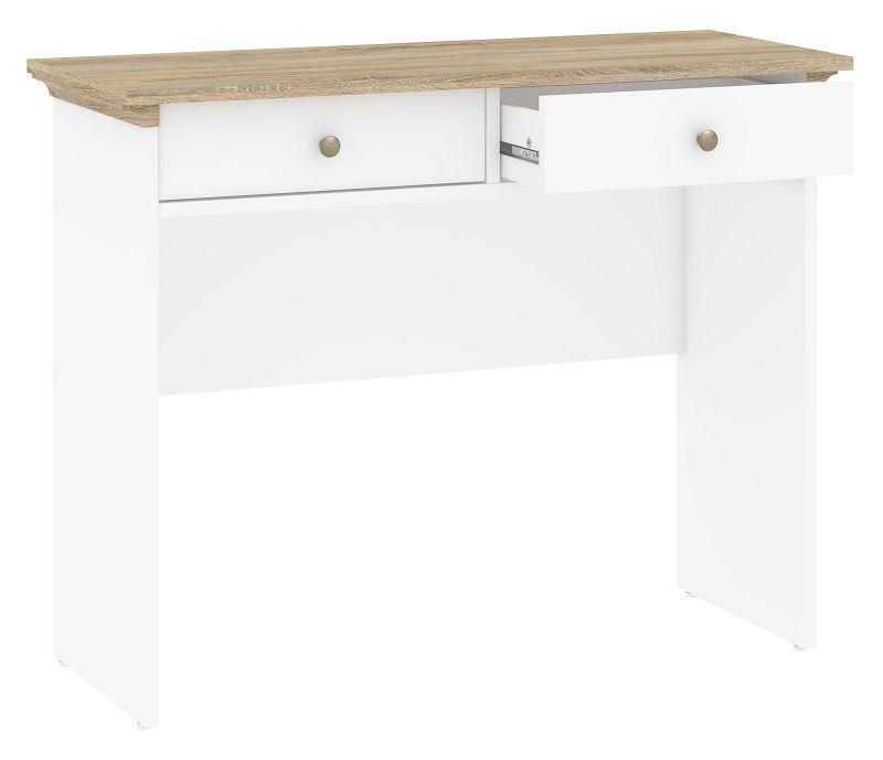 Paris Konsolbord - Hvid - Hvidt konsolbord med 2 skuffer
