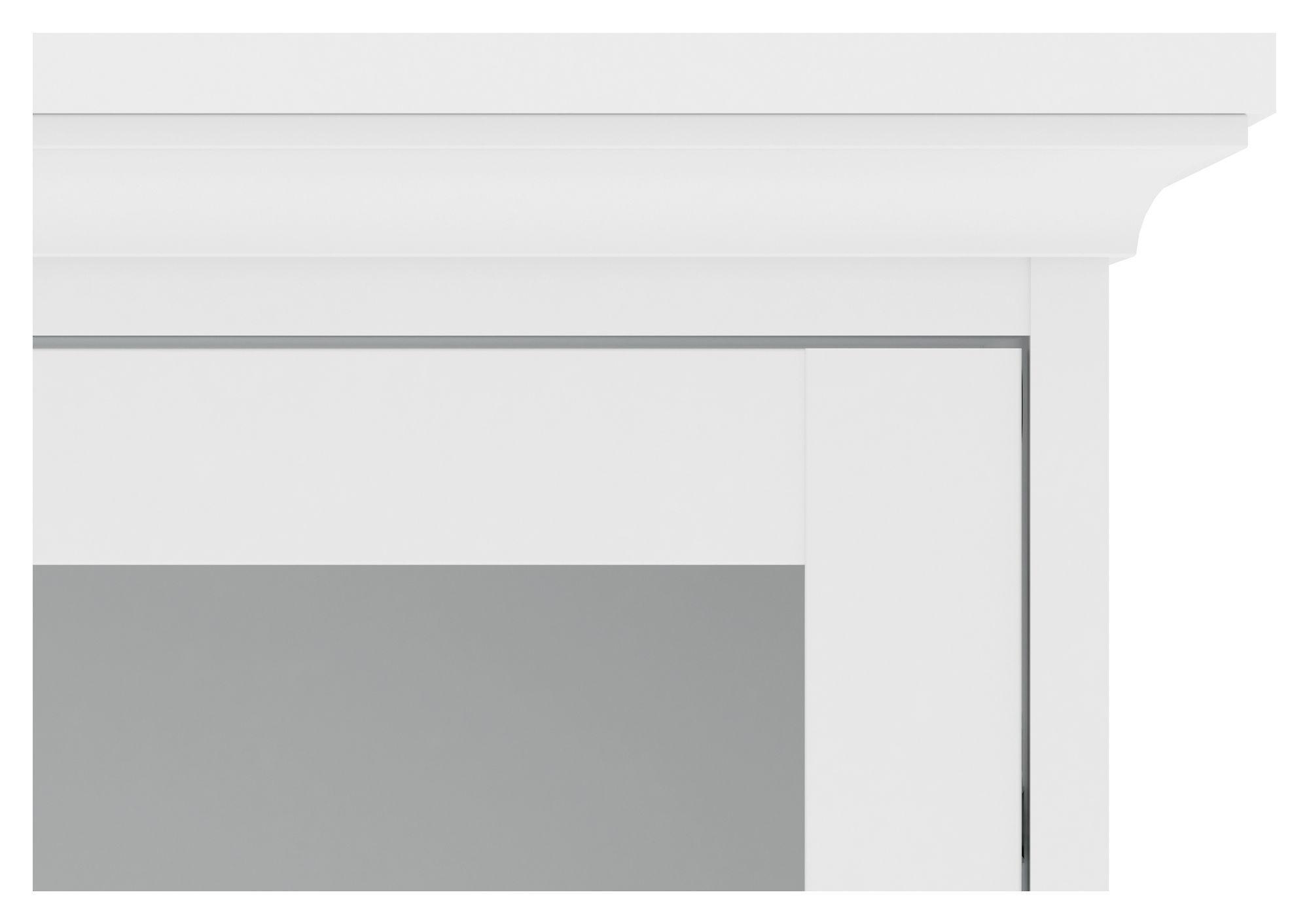 Paris Skænk - Hvid B:98 - Skænk med låger i hvid