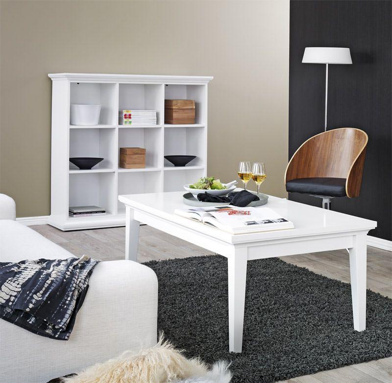 Paris Sofabord - Hvid - Sofabord i hvid