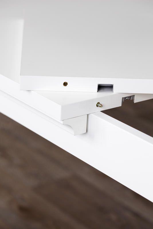 Paris Spisebord - Hvid - Hvidt spisebord