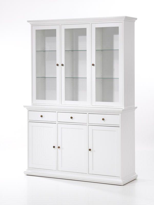 vitrine hvid højglans