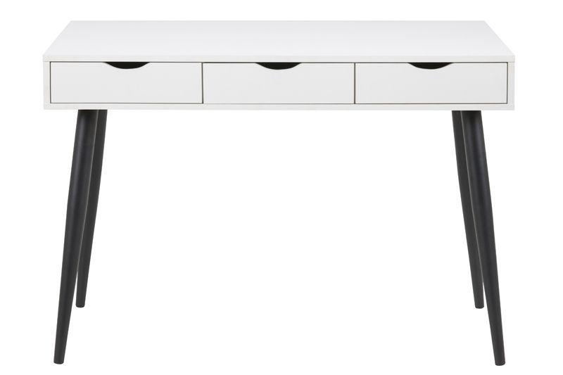 Piper Skrivebord 110x50 - Hvid melamin