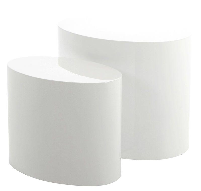 sofabord hvid højglans