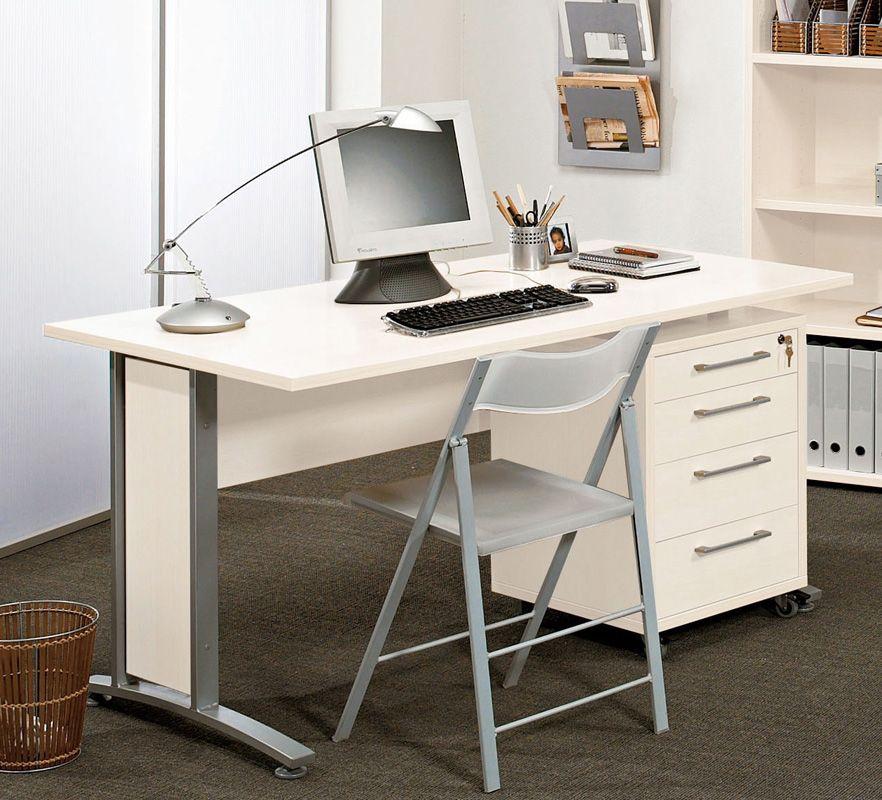 Prima Skrivebord - Skrivebord med skuffemodul