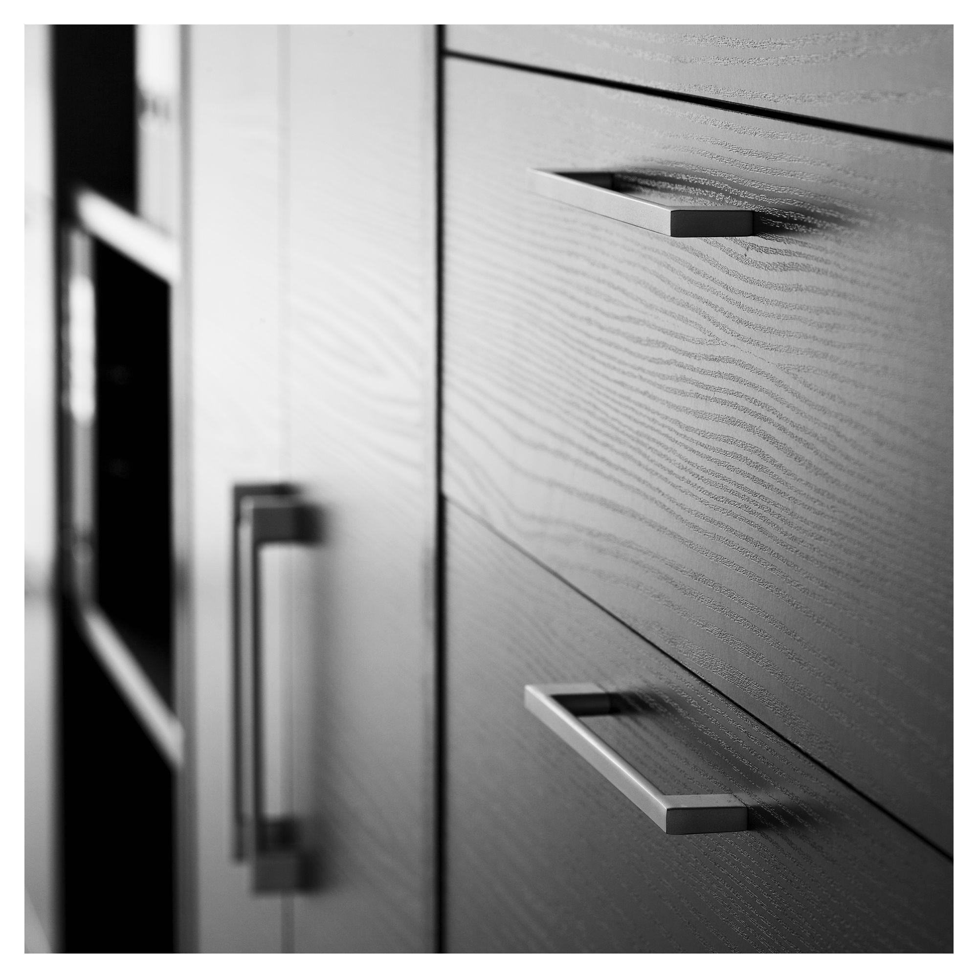 Prima Skrivebordkontor - Grå - Skrivebord i sort ask m. sølvgrå stål