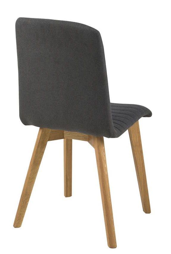 Rosa Spisebordsstol - Grå - Spisebordsstol i grå
