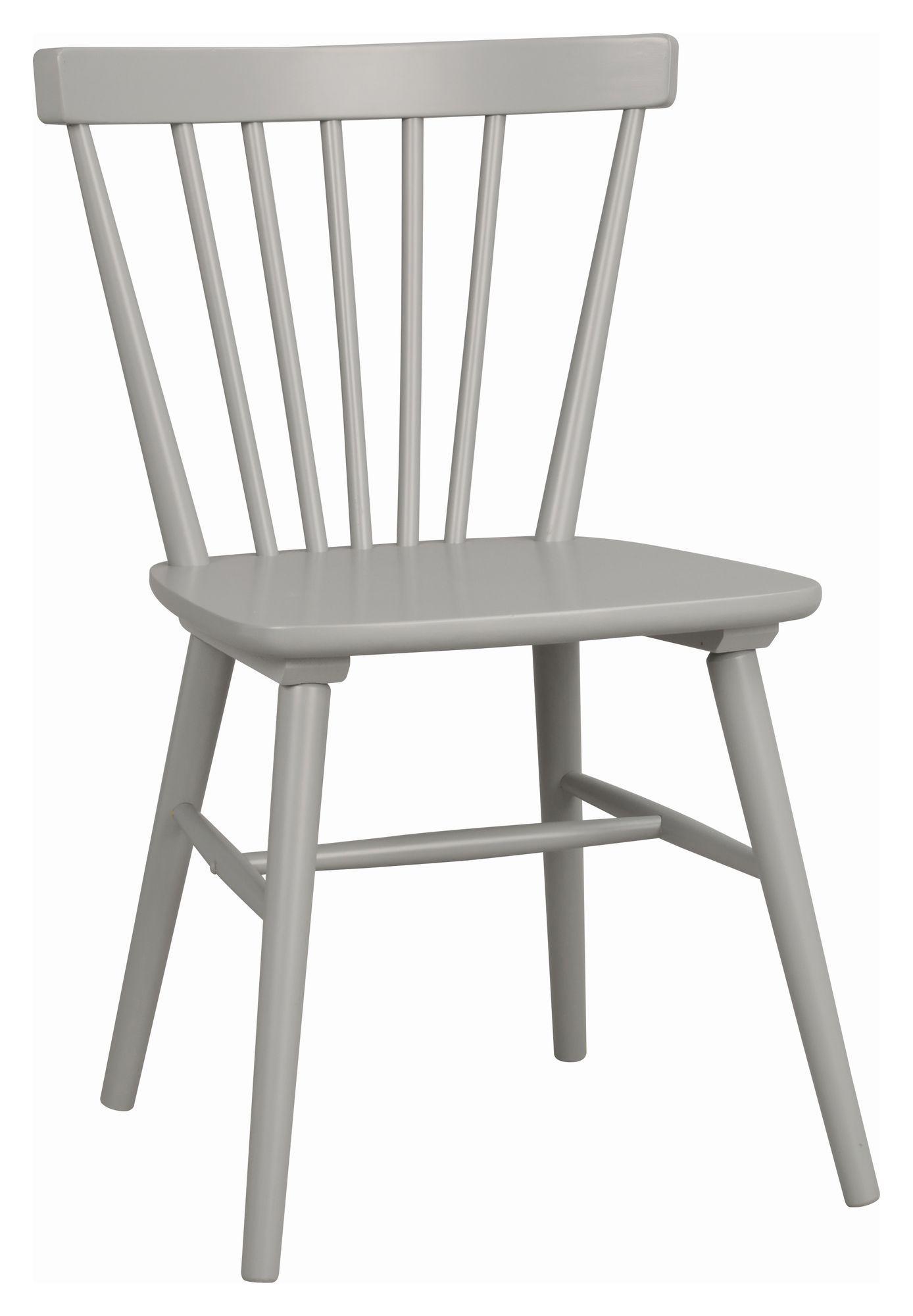 Akita Spisebordsstol  Grå Gummitræ