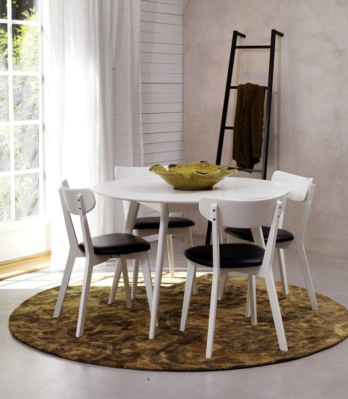 Vega Spisebordsstol - Enkel og stilren stol i sort