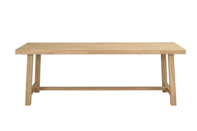 Brooklyn Spisebord 220cm - børstet eg
