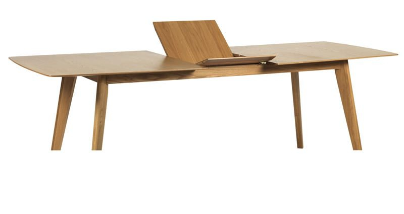 Mason Spisebord m. Butterfly udtræk - 90x190 cm
