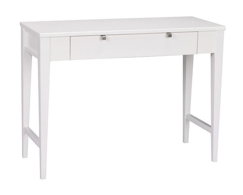 Confetti Konsolbord - Hvidmalet - Hvidlakeret konsolbord med skuffe