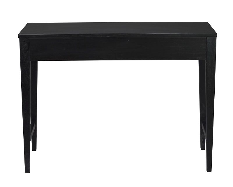 Confetti Konsolbord - Sort egefinér - Sort lakeret konsolbord med skuffe