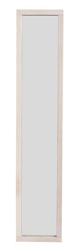 Confetti Nøgleskab - Hvidpigment eg - Nøgleskab med spejl