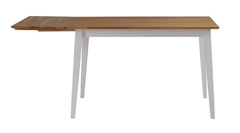 Filippa Klapbord - Eg/hvid 120x80 - 120x80 cm