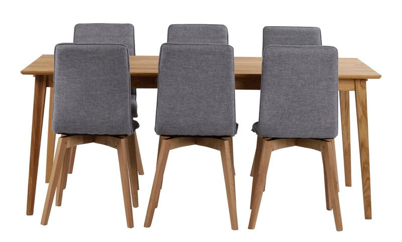 Filippa Spisebord - Olieret eg 180x90 - Spisebord i egetræ