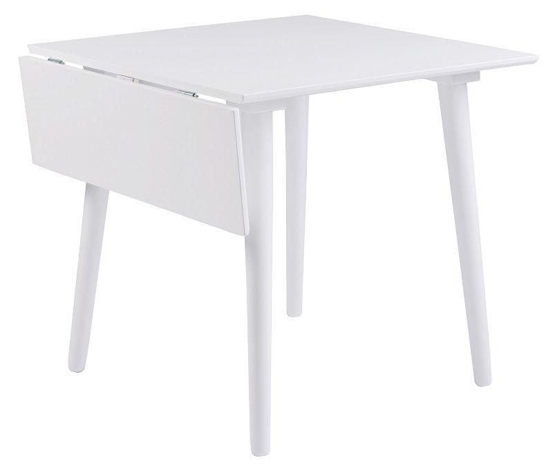 Lotta Klapbord - Hvid 80x80 - Gratis fragt