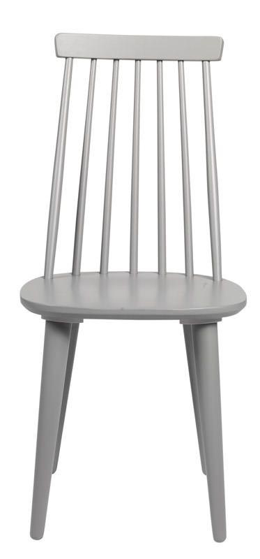 Otto Spisebordsstol - Trendy spisebordsstol i lysegrå