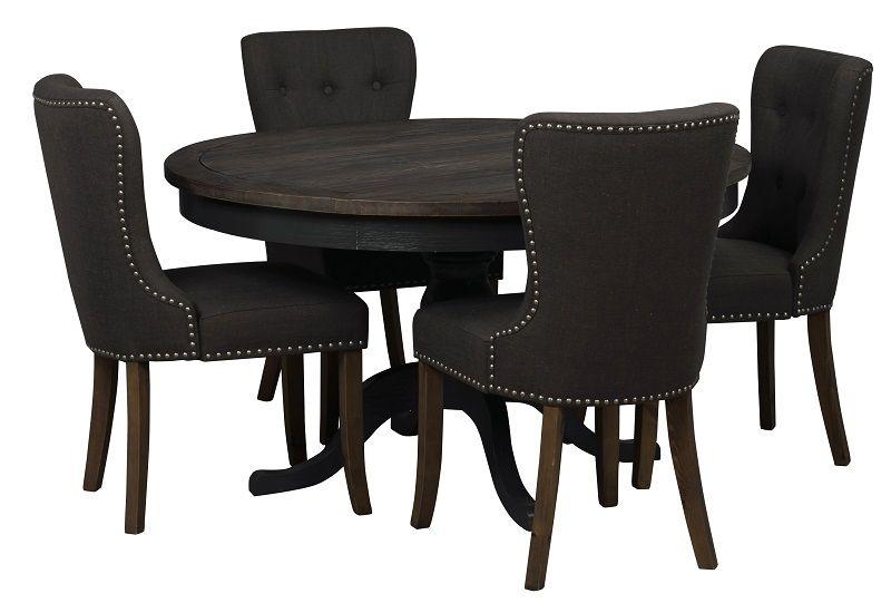 Nottingham Spisebord - Brun - Rundt Spisebord Ø130 cm