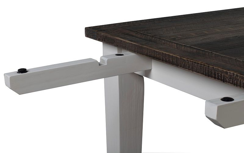 Nottingham Spisebord - Hvid - 100x200 - Spisebord 100x200 cm