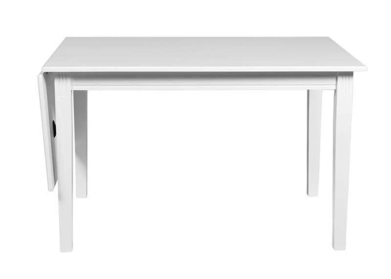 Wittskär Klapbord - Hvid - Traditionelt klapbord i hvid