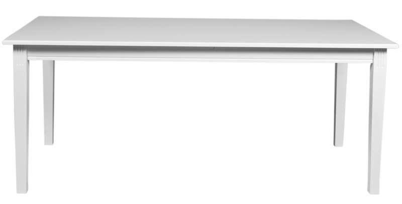 Julianna Spisebord - Aflangt spisebord i hvid - 180 cm.
