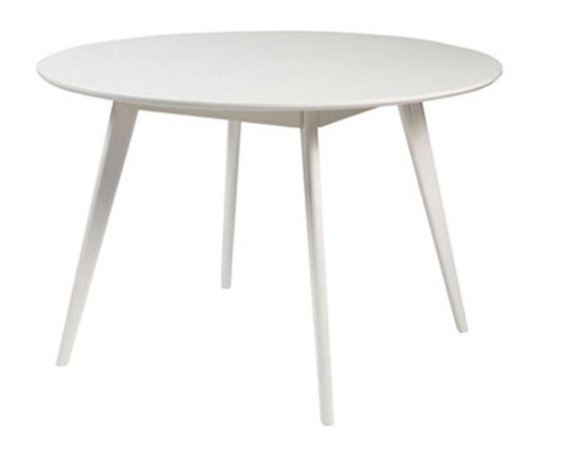 Bello Spisebord - Hvid - Ø115 - Gratis fragt
