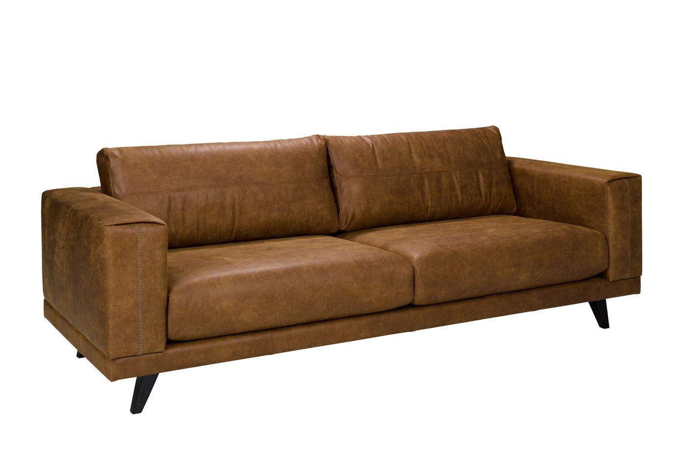 Ryder 3-pers. Sofa - Brun